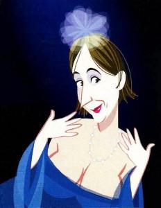 Clelia cartoon
